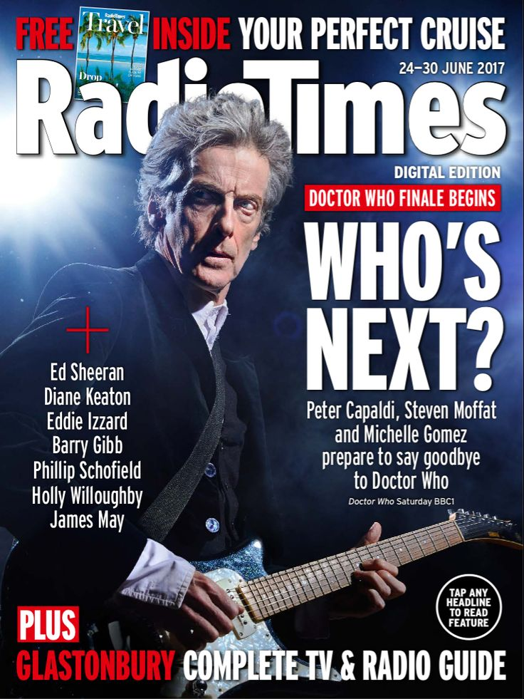 Capaldi rock and roll doctor cover