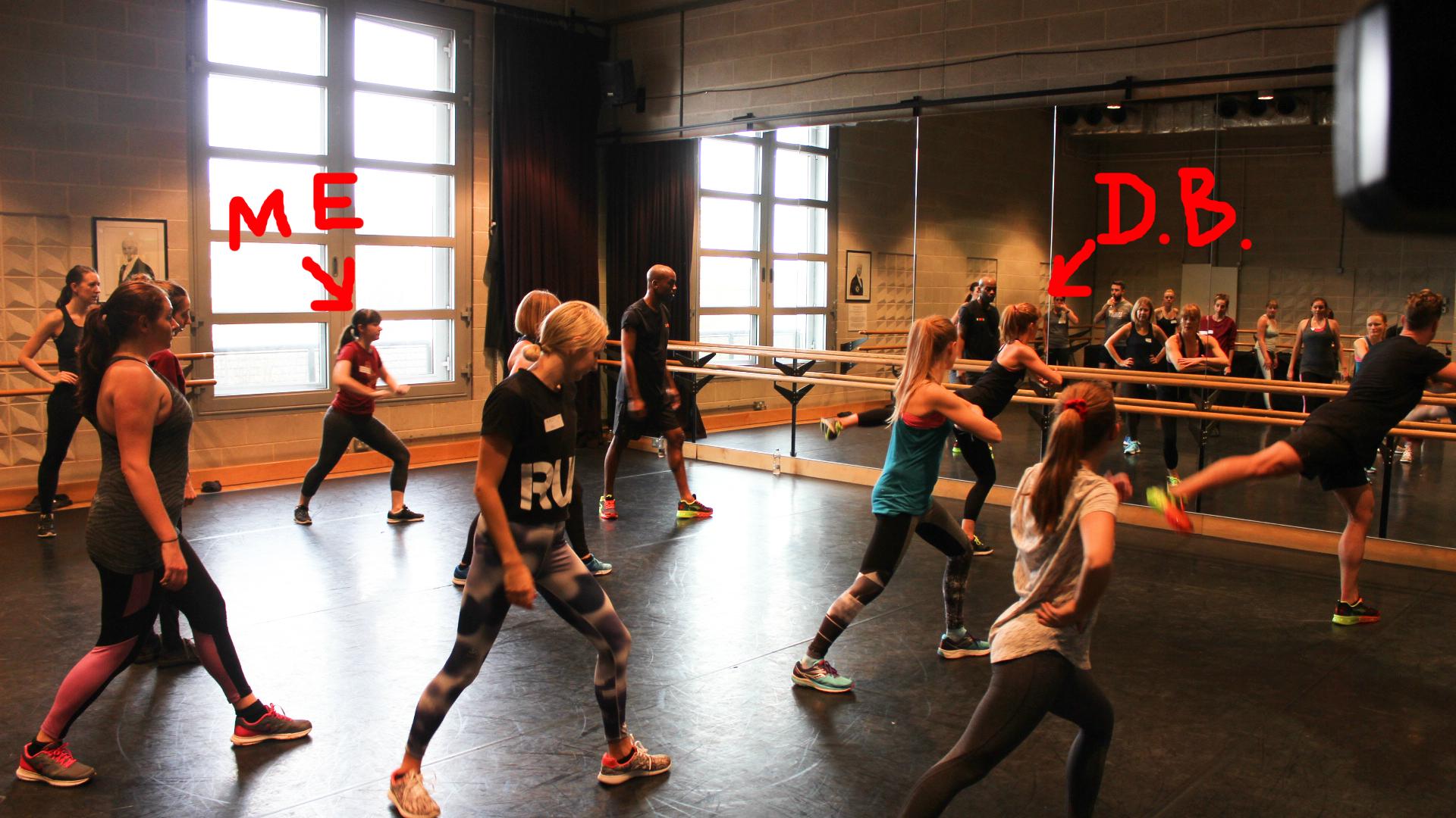 Darcey Bussell's dance class