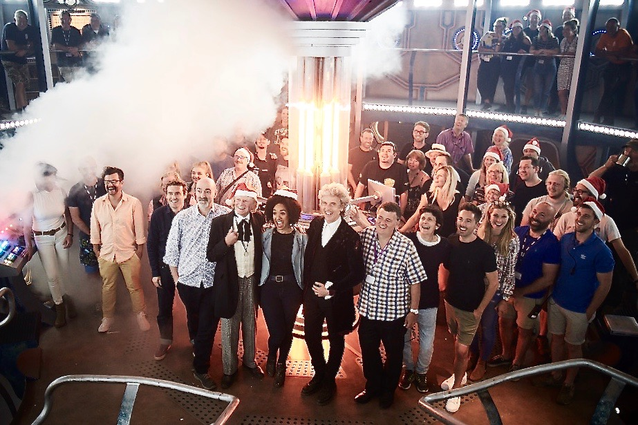 Doctor Who crew 2017