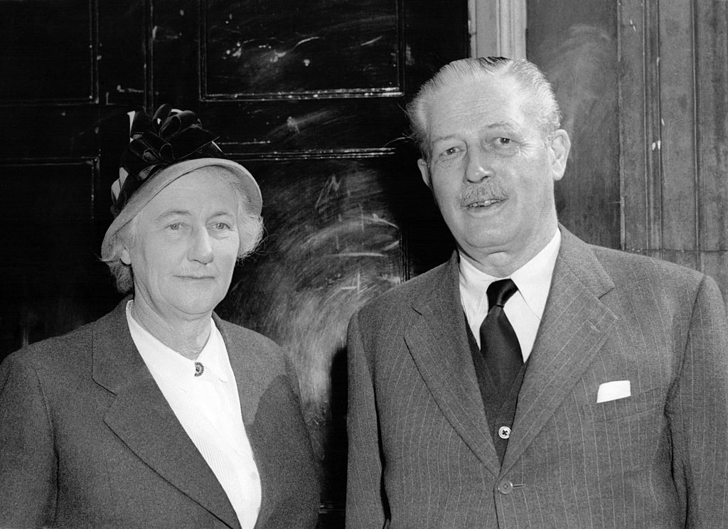 Harold Macmillan And His Wife Dorothy Macmillan
