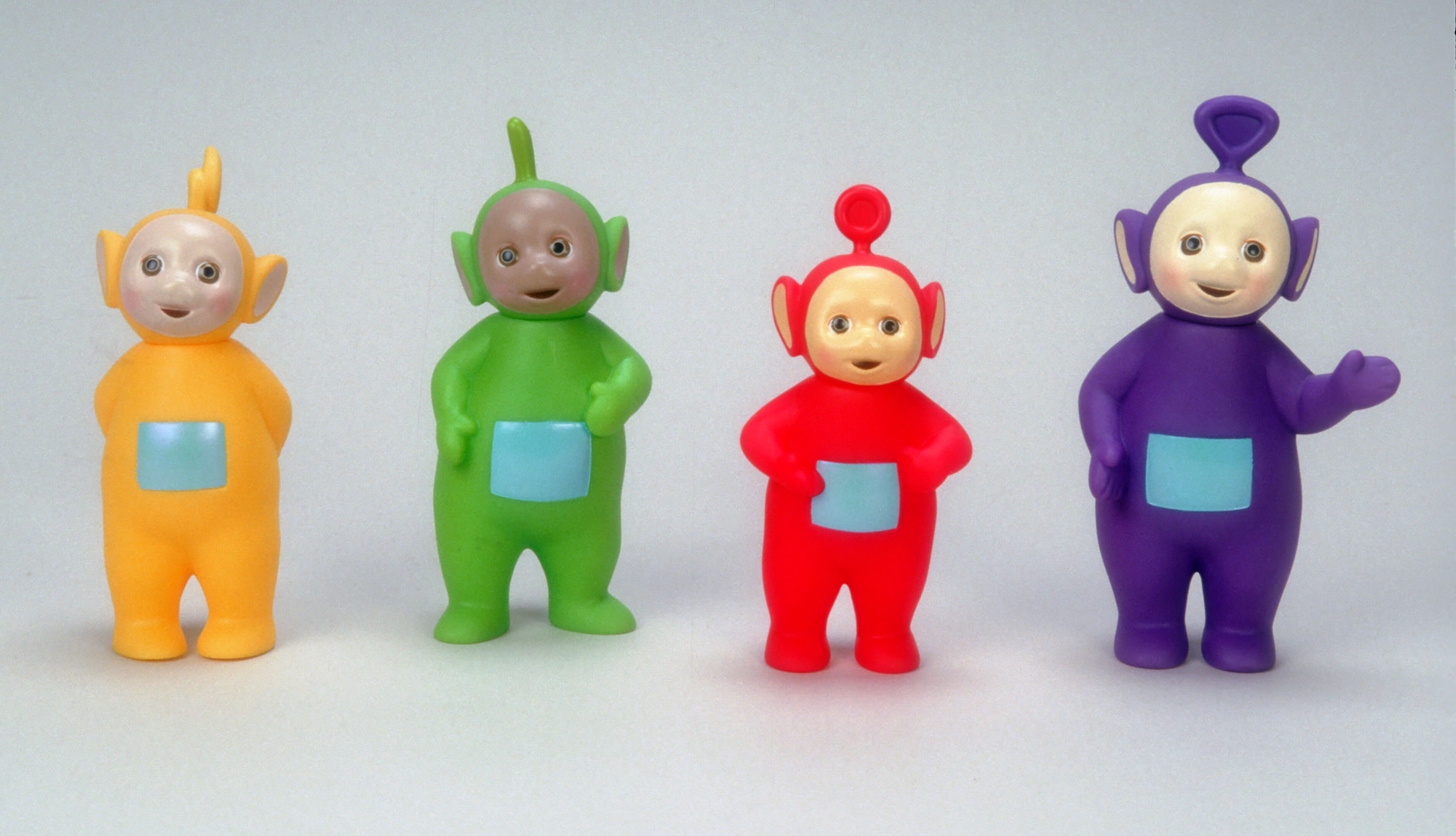 UNDATED - Teletubbies dolls are photographed in this undated picture. (Photo by Yvonne Hemsey/Getty Images, BA)