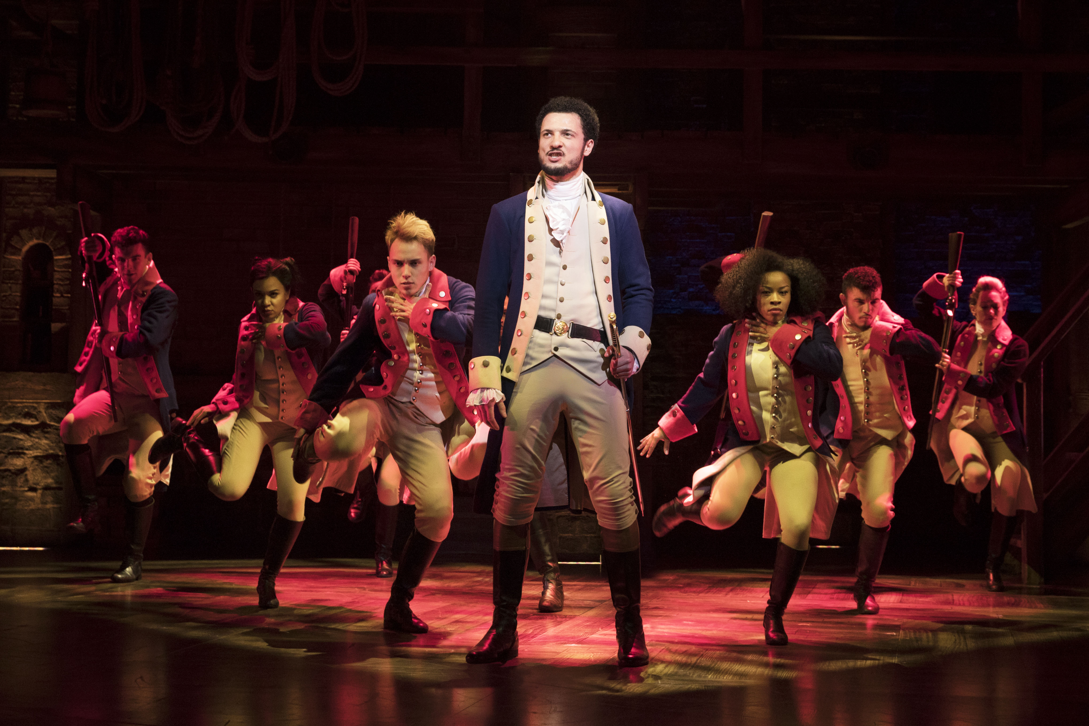 Jamael Westman as Alexander Hamilton