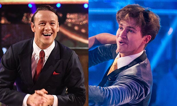 Kevin Clifton and AJ Pritchard on Strictly Come Dancing 2017