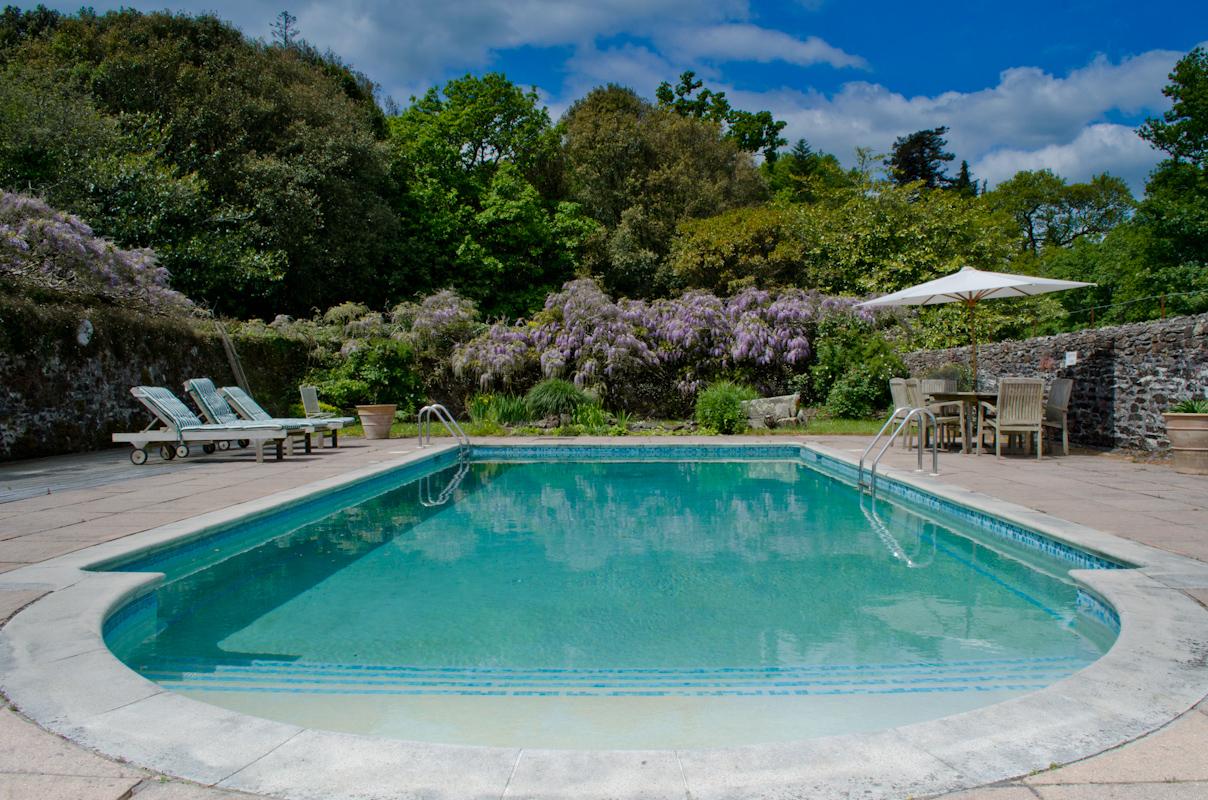 Pentillie Castle Swimming Pool