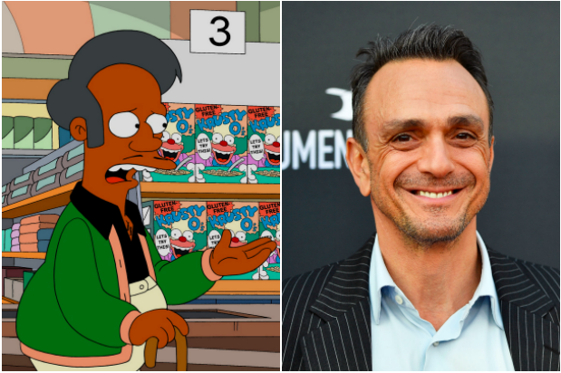 Apu & Hank Azaria (Getty, EH)