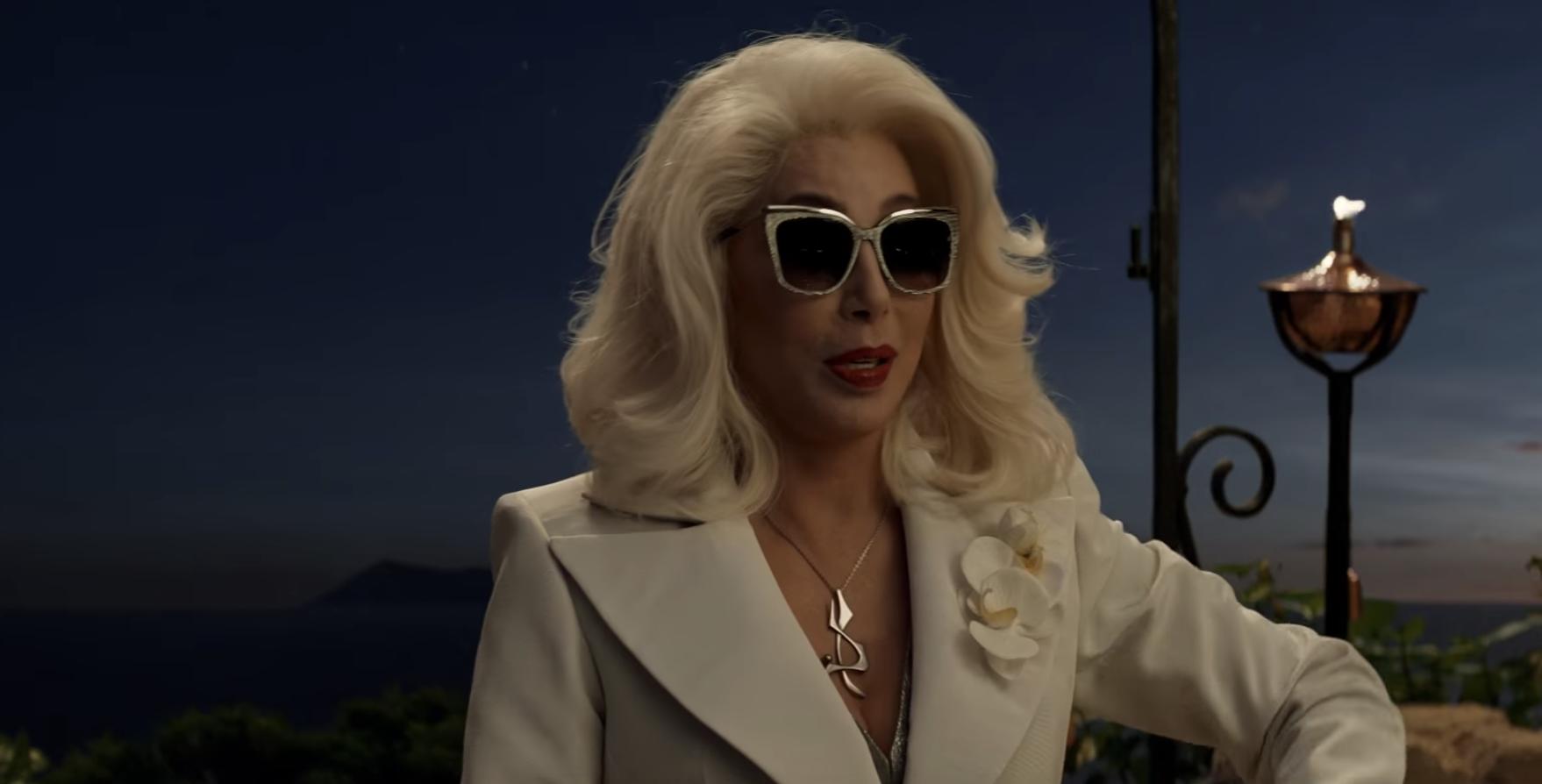 Cher Mamma Mia Here We Go Again trailer