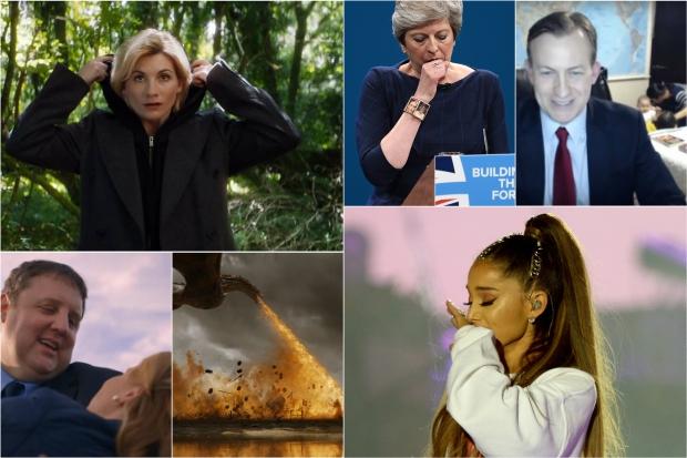 2017's Most Memorable TV Moments