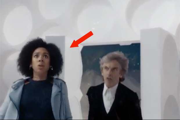 Pearl Mackie and Peter Capaldi in the First Doctor\u0027s Tardis in the Doctor Who Christmas special  sc 1 st  Radio Times & Doctor Who: what were new Doctor Jodie Whittaker\u0027s first words ...