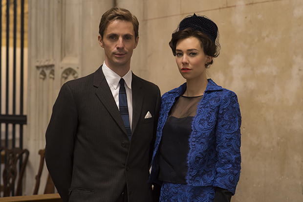The Crown - Margaret and husband