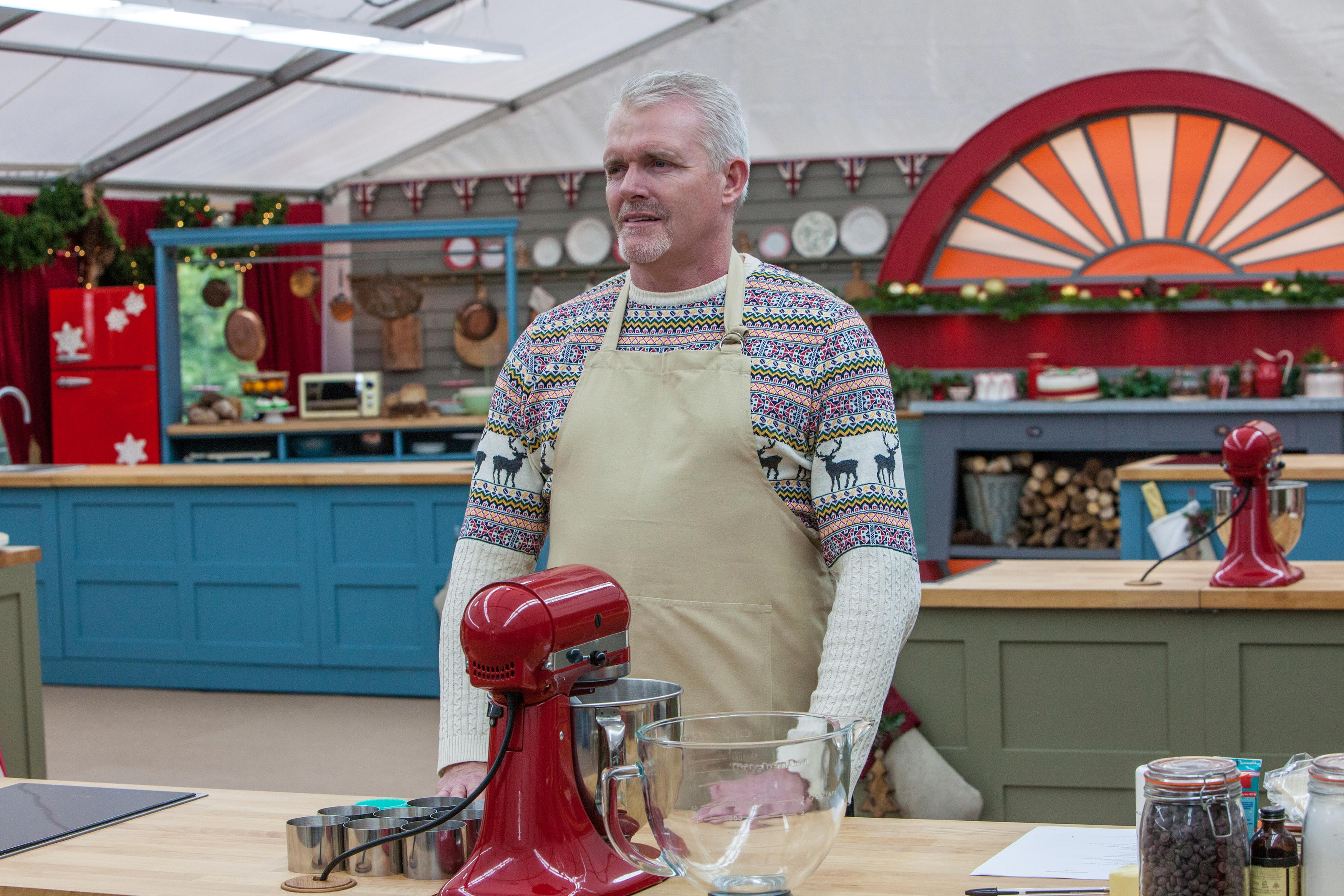 Paul Jagger Bake Off (Channel 4, EH)