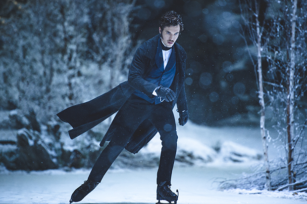 Victoria – Prince Albert angrily ice-skating