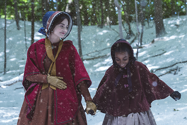 Jenna Coleman as Victoria and Zaris-Angel Hator as Sarah