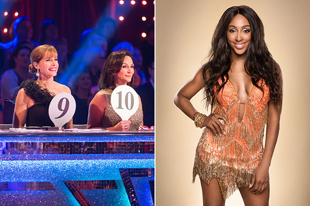 Darcey, Shirley and Alexandra Burke, BBC Pictures, SL