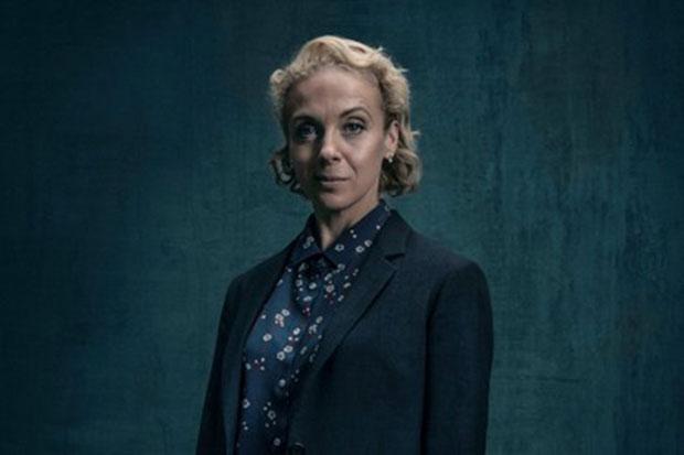 Amanda Abbington in Sherlock, BBC, SL
