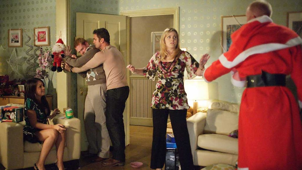 Max and Stacey's affair is exposed on Christmas Day