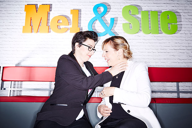 Mel and Sue, Nicky Johnston, SL