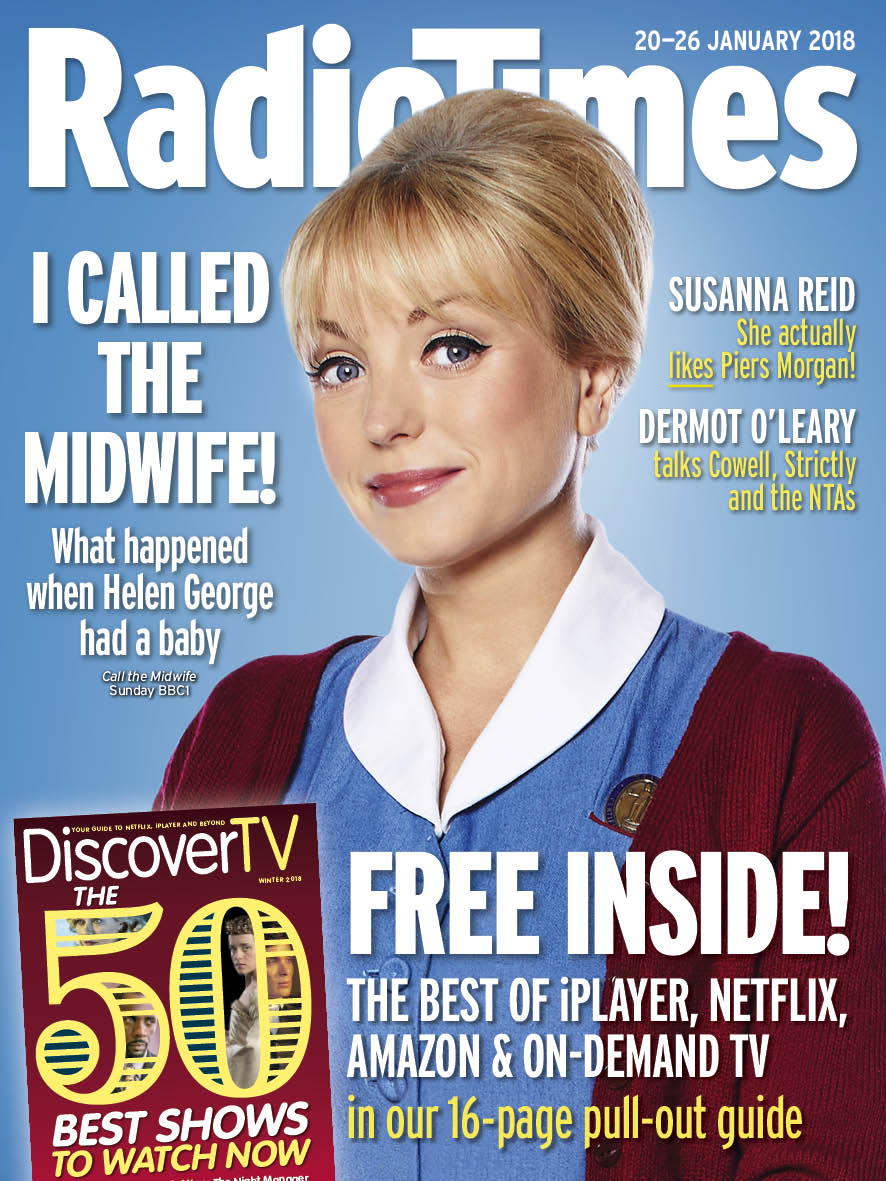Radio Times cover Helen George