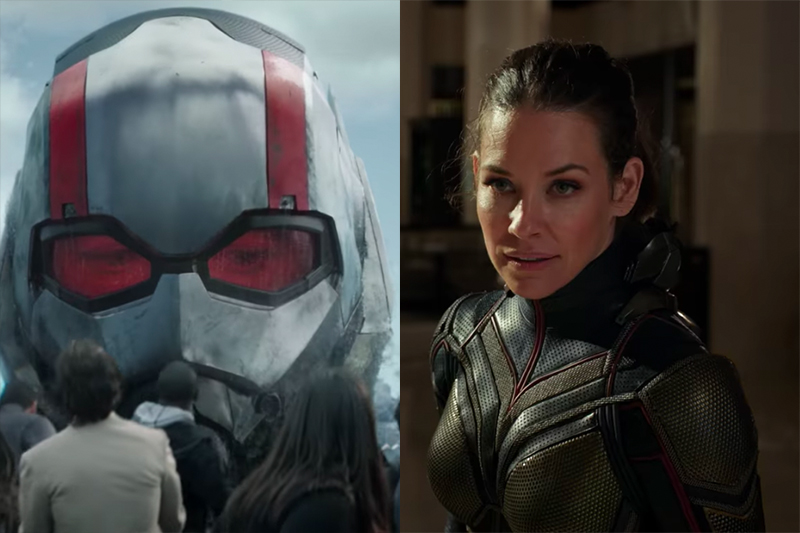 Paul Rudd and Evangeline Lili in Ant-Man and the Wasp (Marvel, HF)