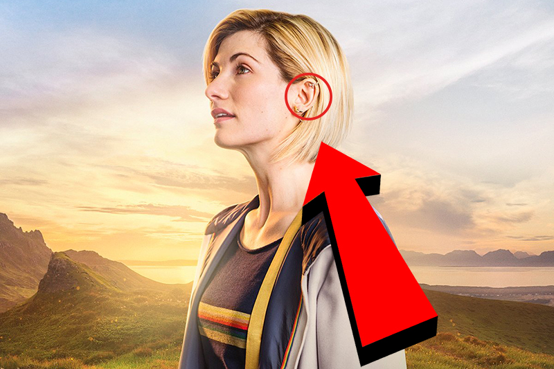 What is Jodie Whittaker's new Doctor Who earring like? New ...