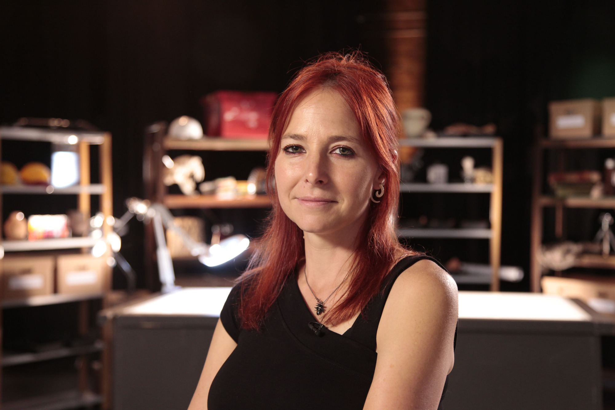 Programme Name: Digging for Britain - TX: n/a - Episode: n/a (No. Generics) - Picture Shows: Professor Alice Roberts - (C) 360Production - Photographer: ProductionBBC, TL
