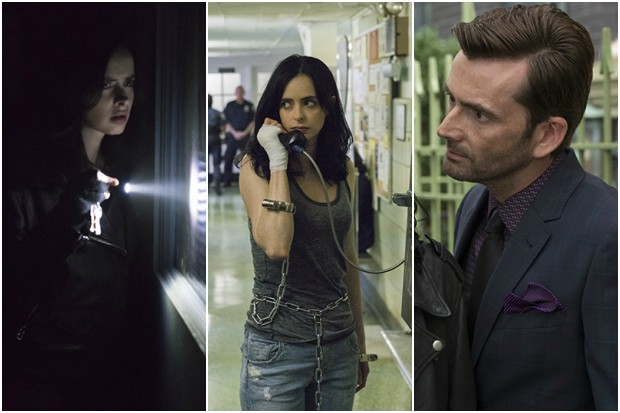 Images from Jessica Jones season 2 (Netflix, HF)