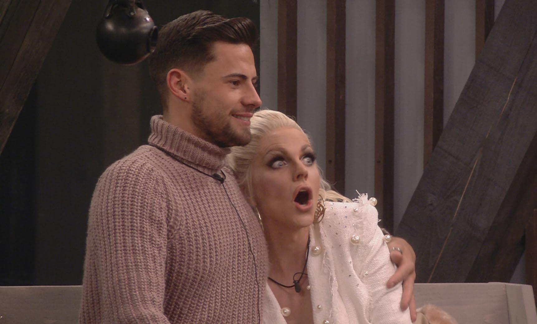 Celebrity Big Brother 2018 - Andrew and Courtney / Shane Jenek
