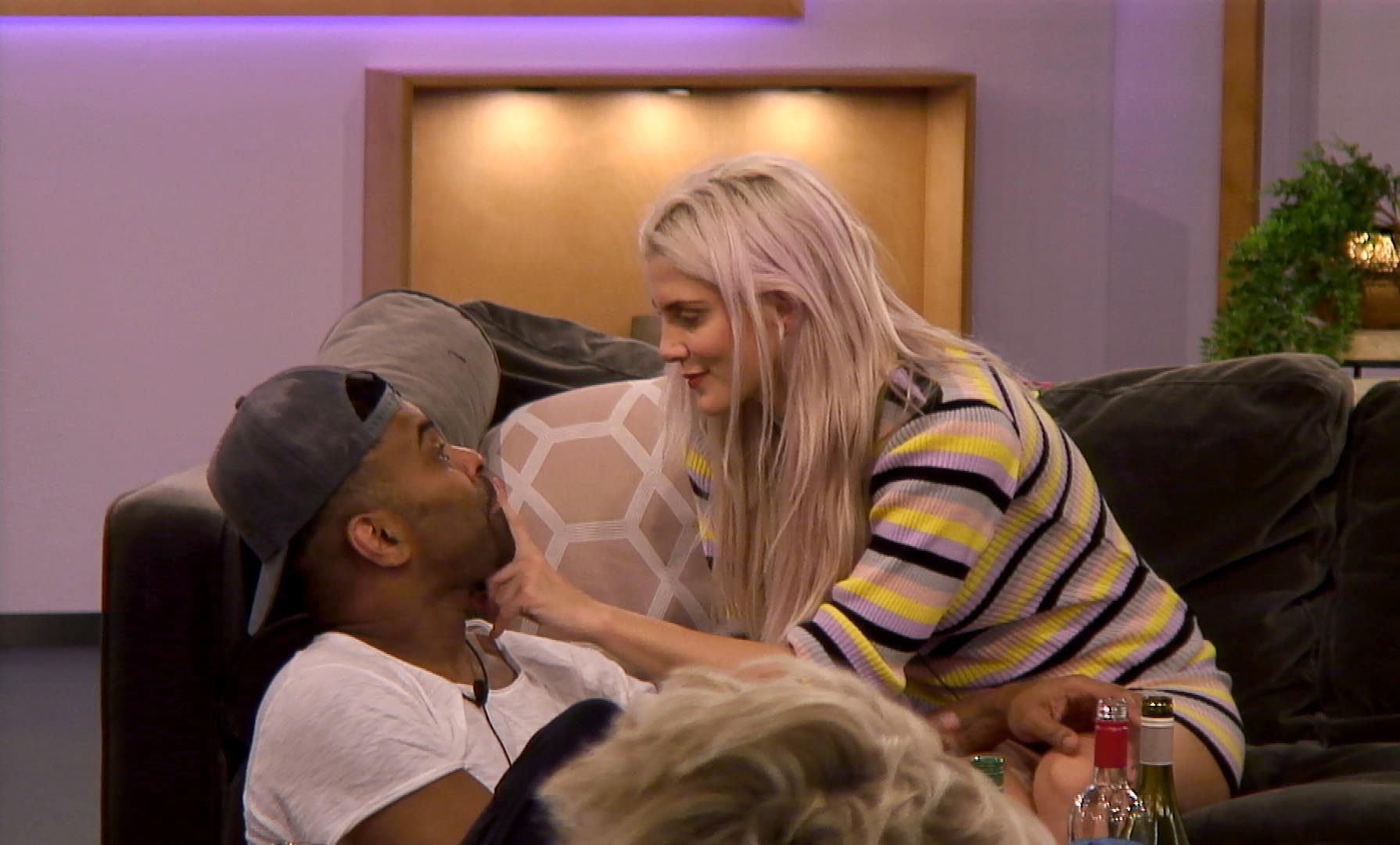 Celebrity Big Brother 2018 Ashley and Ginuwine
