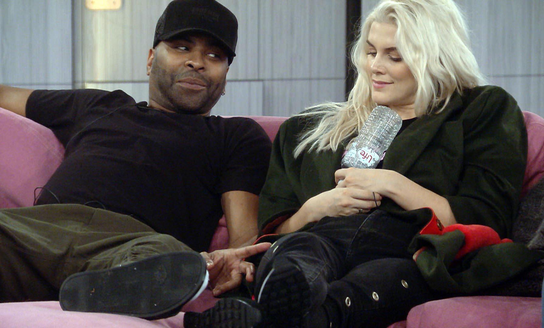 Ginuwine and Ashley on Celebrity Big Brother 2018