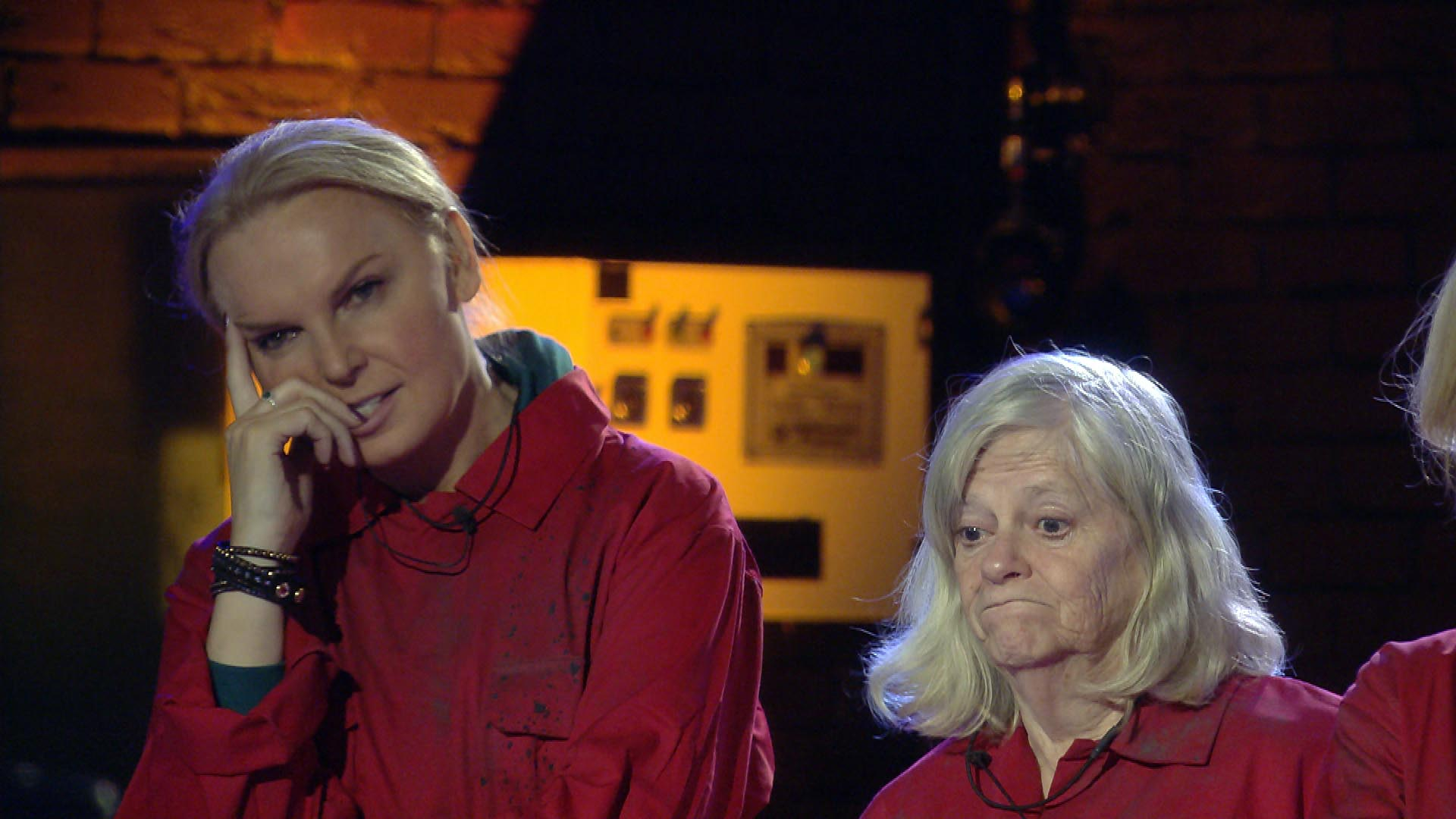 Celebrity Big Brother 2018 - India and Ann.
