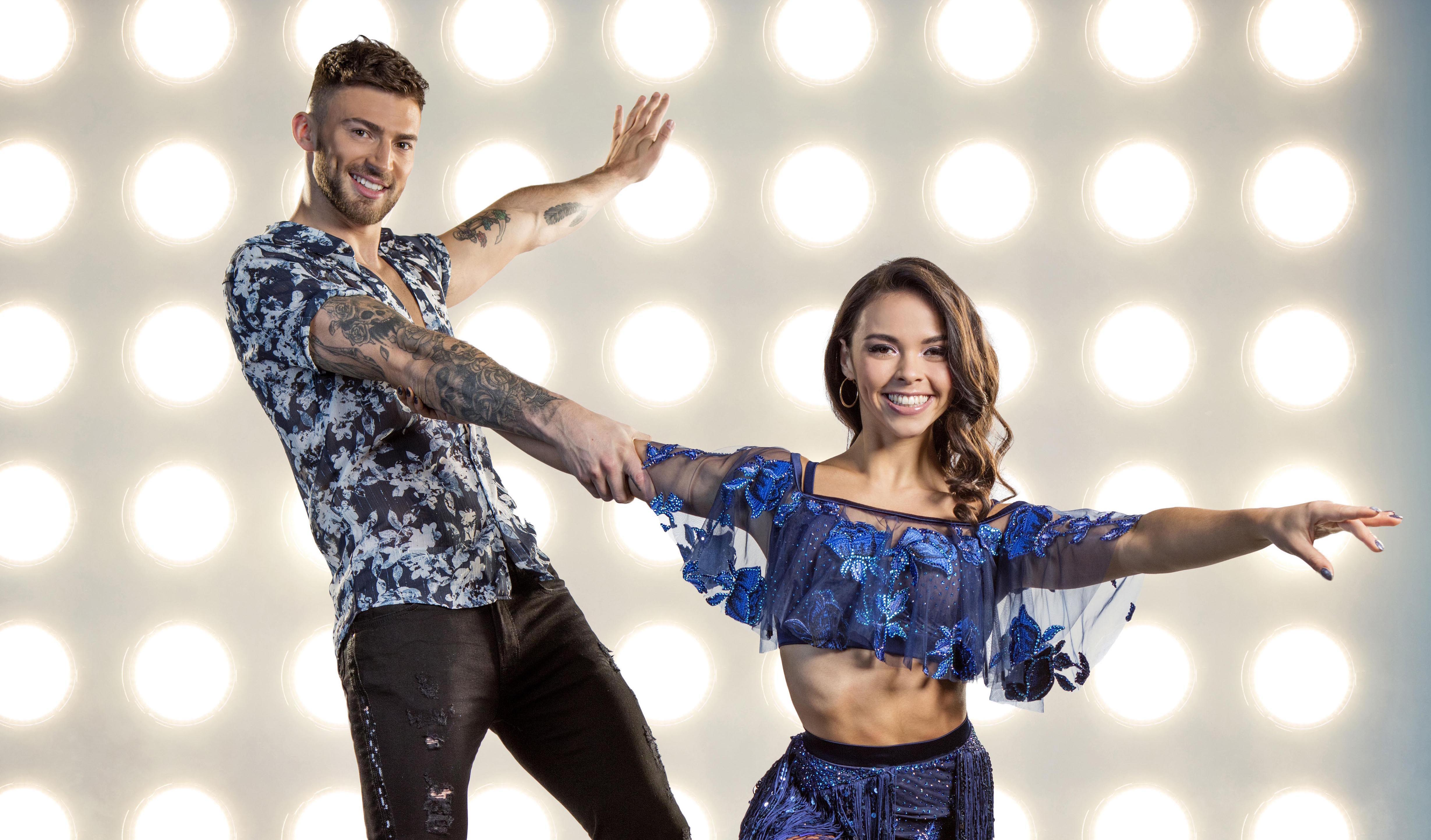 Dancing on Ice Jake Quickenden