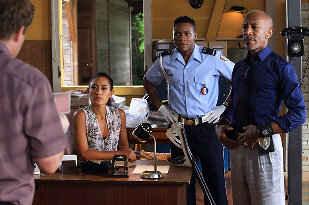 Death in Paradise police station