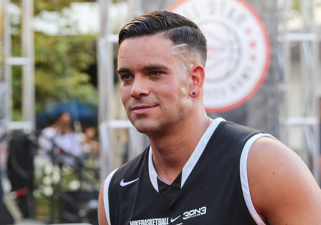 LOS ANGELES, CA - AUGUST 07:  Actor Mark Salling attends the celebrity basketball game to kick off the 2015 Nike 3ON3 basketball tournament at L.A. LIVE on August 7, 2015 in Los Angeles, California.  (Photo by Paul Archuleta/FilmMagic)