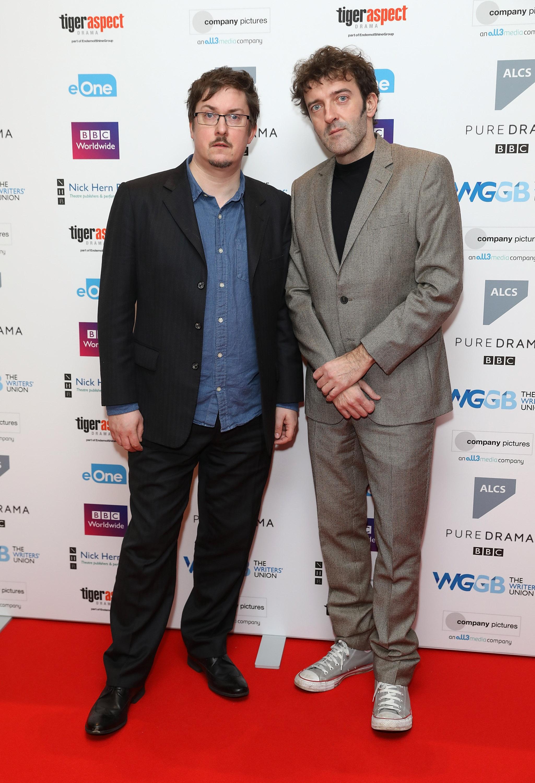Joel Morris and Jason Hazeley (Getty, EH)