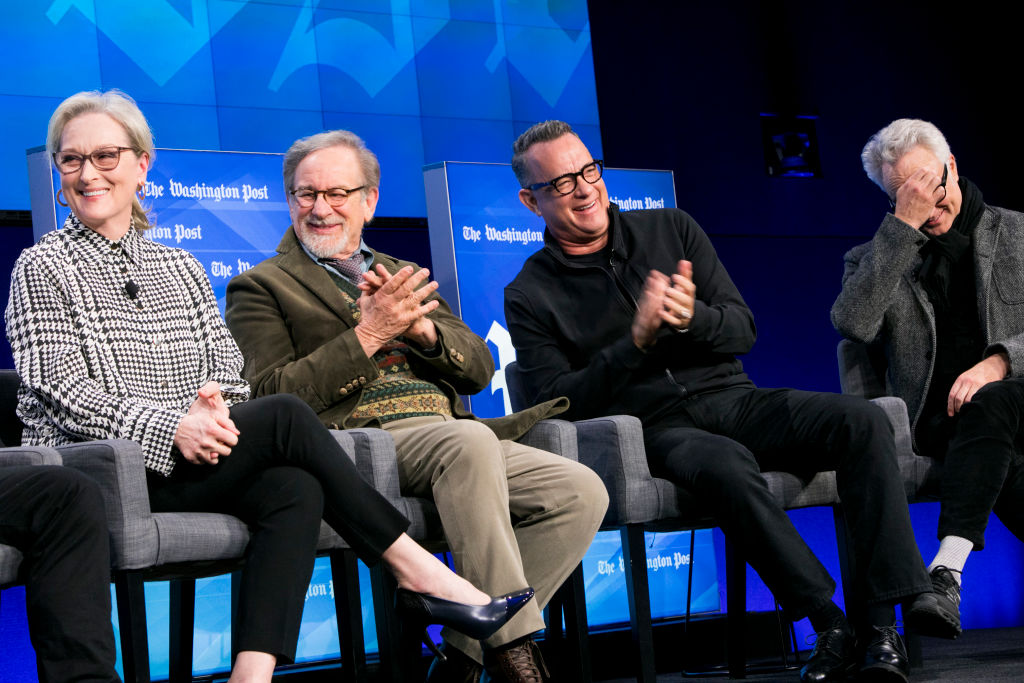 Tom Hanks, Steven Spielberg, Meryl Streep (Getty, BA)