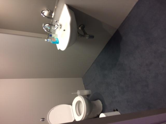Celebrity Big Brother - toilet