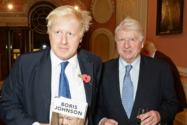 Stanley and Boris Johnson