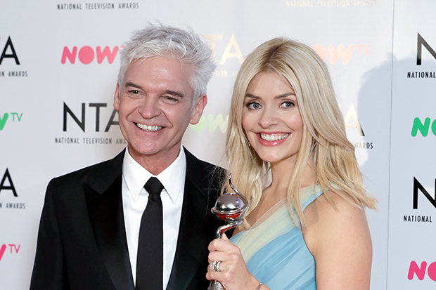 Philip Schofield and Holly Willoughby at the NTAs