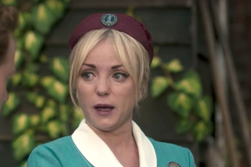 Helen George in Call the Midwife series 7
