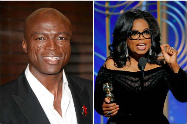 Seal and Oprah Winfrey (Getty, EH)