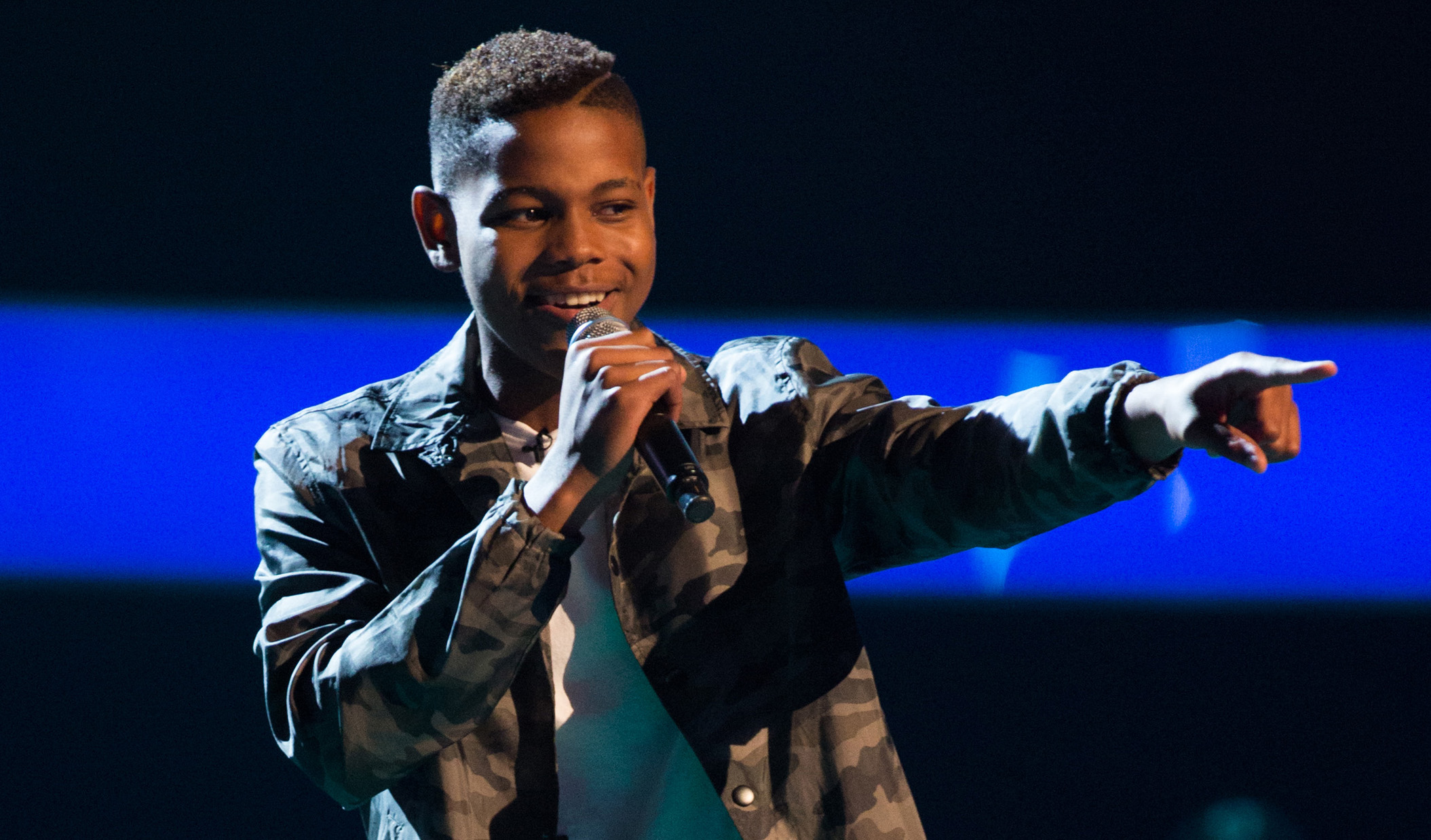 The Voice UK Donel Mangena