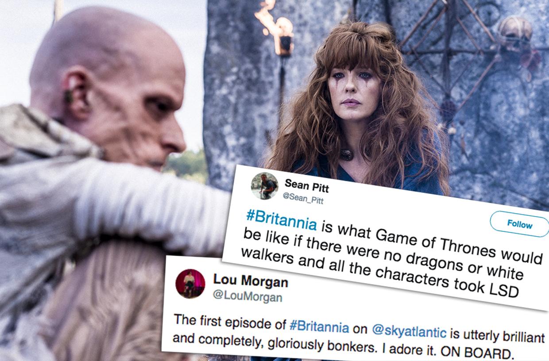 Britannia Viewer Reactions