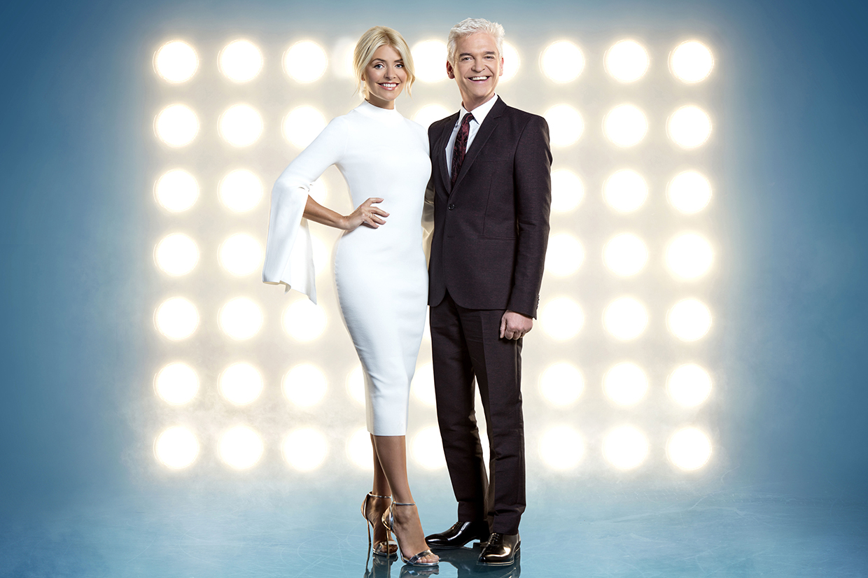 Holly Willoughby and Phillip Schofield - Dancing on Ice