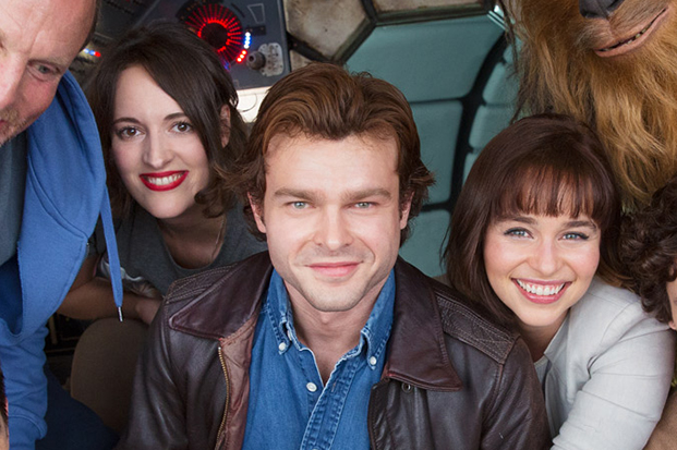 The cast of Solo: A Star Wars Story (LucasFilm, HF)