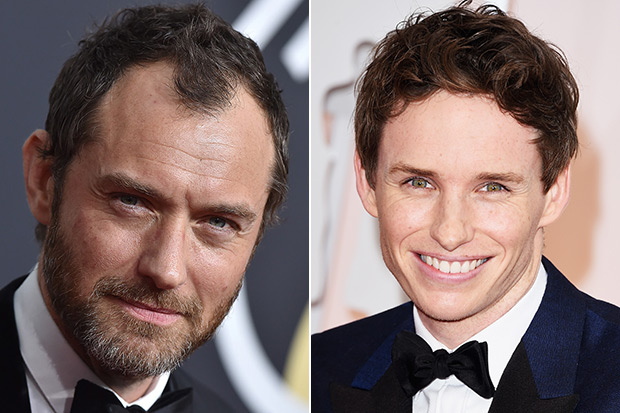 Jude Law and Eddie Redmayne, Getty, SL