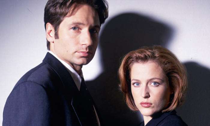 The X Files - Mulder and Scully