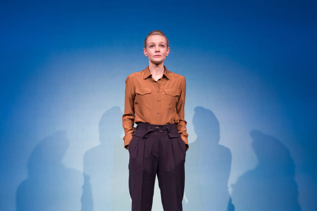 Carey Mulligan in Girls & Boys at the Royal Court Theatre