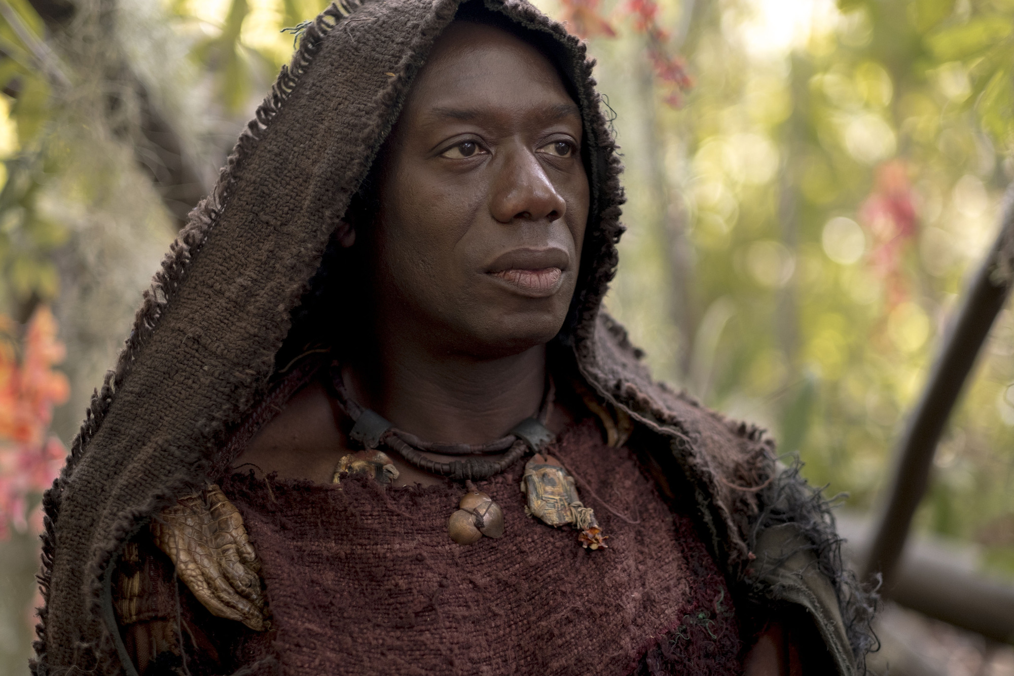 WARNING: Embargoed for publication until 00:00:01 on 13/02/2018 - Programme Name: Troy - Fall of a City - TX: n/a - Episode: Troy - Fall of a City episode 1 (No. 1) - Picture Shows:  Zeus (HAKEEM KAE-KAZIM) - (C) Wild Mercury Productions - Photographer: Patrick Toselli BBC, TL