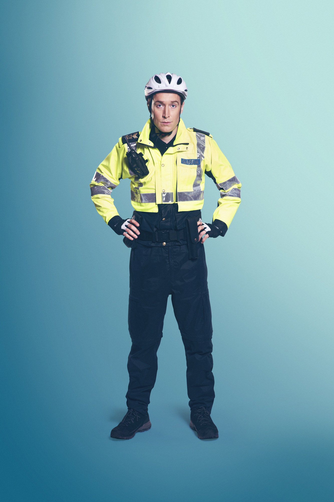 Dominic MacHale is Sergeant Tony Healy