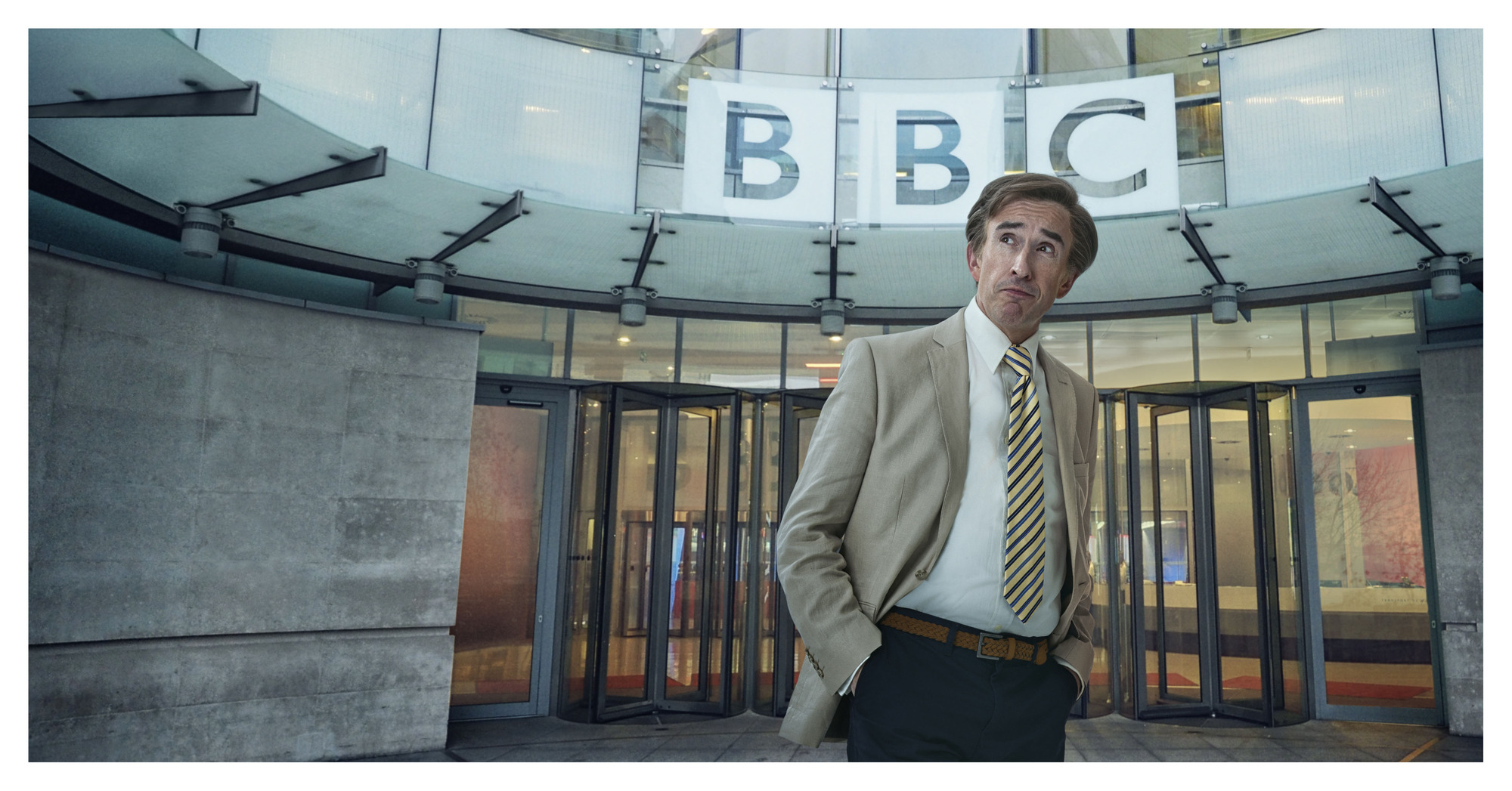 Alan Partridge will spoof The One Show in his new BBC series