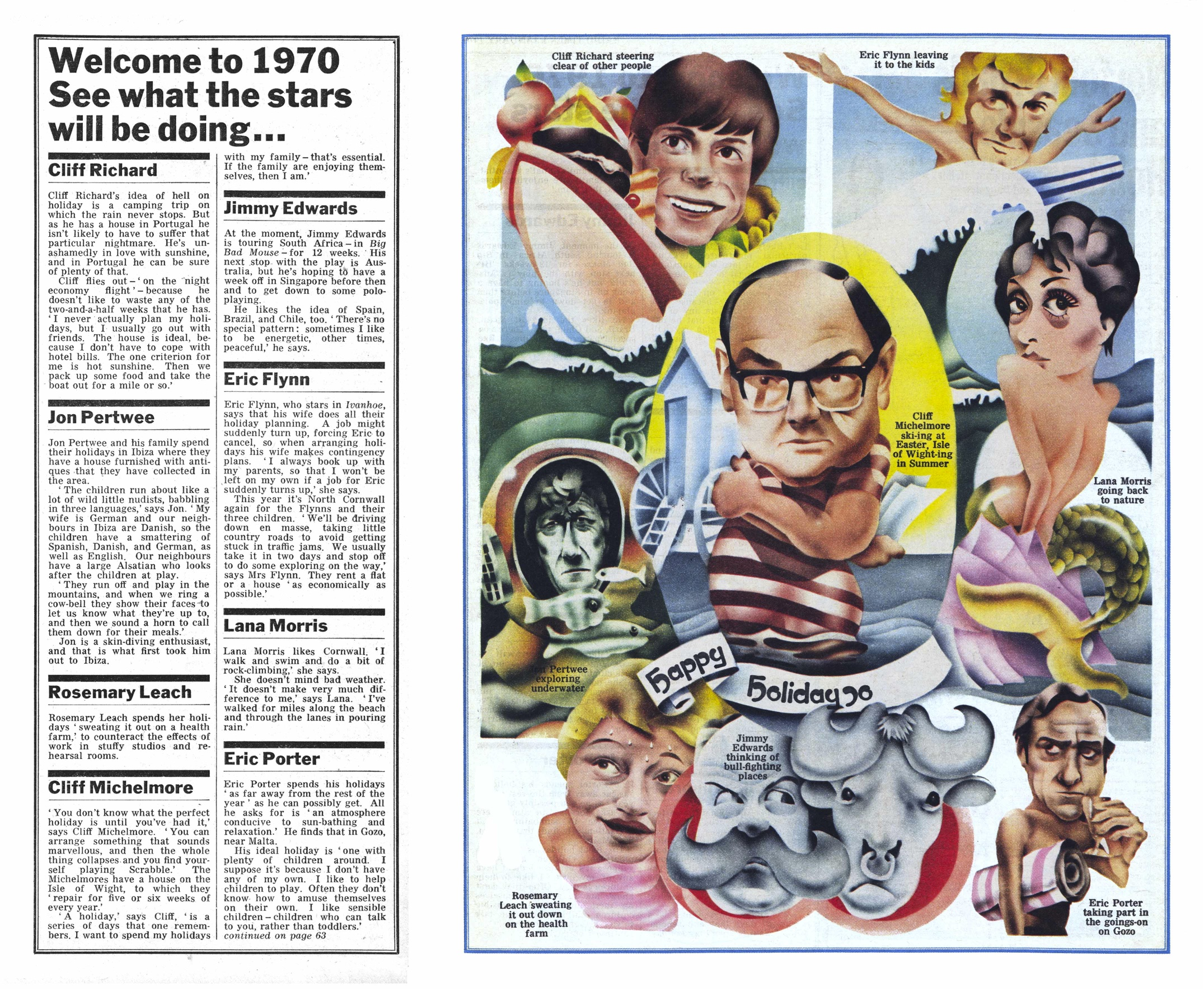 1970 Holiday article
